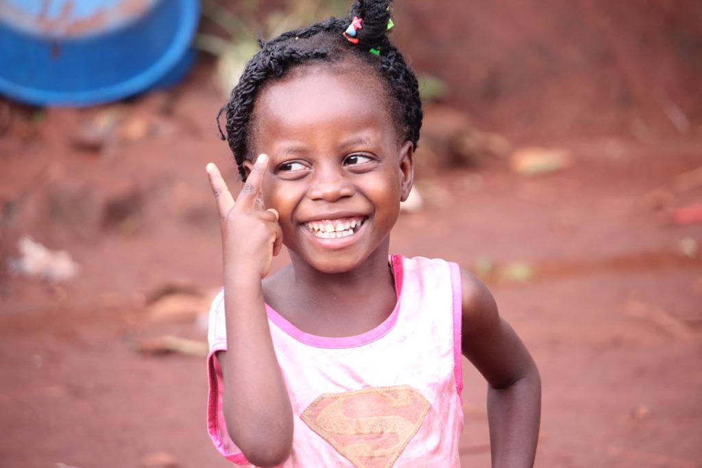 ein glückliches Waisenkind
